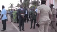 Benin President Thomas Boni Yayi and Togolese counterpart Faure Gnassingbe visit Ivory Coast following a terror attack that left 18 people dead