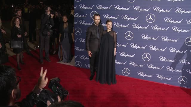 Benjamin Millepied Natalie Portman at 28th Annual Palm Springs International Film Festival Awards Gala in Los Angeles CA