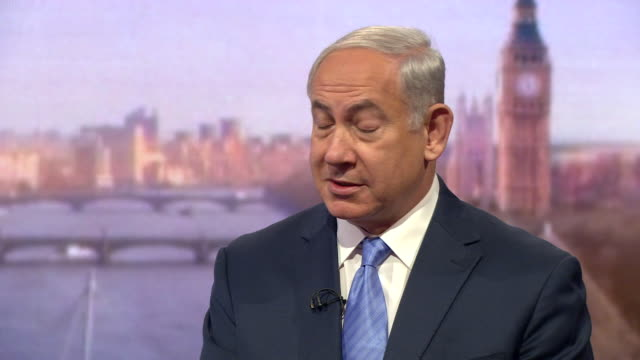 Benjamin Netanyahu disputing UNESCO's statement that 'Jewish people have no connection to Jerusalem' by saying 'tell that to King Solomon and King...