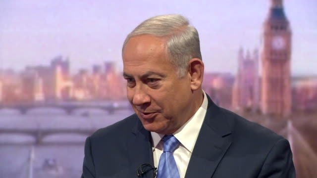 Benjamin Netanyahu saying he had a good relationship with Barack Obama but he disagreed with him on Iran