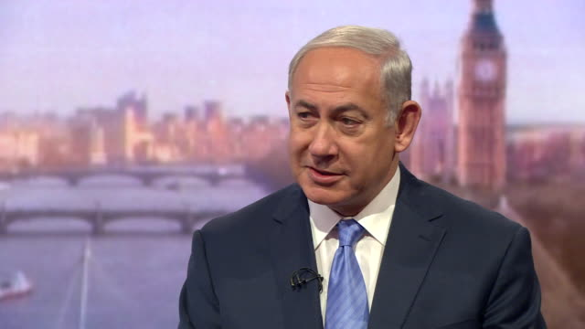 Benjamin Netanyahu saying Israel's Arabs are the only Arabs in the Middle East 'who enjoy genuine religious and civic freedom'