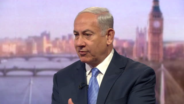 Benjamin Netanyahu saying when Israel removed settlements from Gaza violence still continued