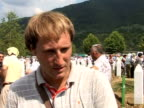 Bereaved families and survivors buried hundreds of victims of the Srebrenica massacre on Sunday as world leaders demanded the arrest of the general...
