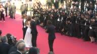 BROLL Berenice Bejo Lea Seydoux Adele Exarchopoulos Abdellatif Kechiche Hirokazu Koreeda Tao Zhao Jia Zhangke at Closing Ceremony Red Carpet on May...