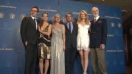 Berenice Bejo Michel Hazanavicius Penelope Ann Miller Jean Dujardin Missi Pyle James Cromwell at 64th Annual DGA Awards Press Room on 1/28/12 in Los...