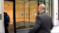 Berezovsky seeks compensation from Abramovitch ENGLAND London EXT People into court building / Chelsea FC owner Roman Abramovich arriving with others...