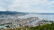 Bergen, Norway, Time Lapse