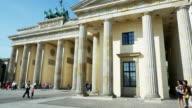PAN T/L Berlin Brandenburger tor Viewed From Pariser Platz