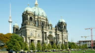 Berlin Cathedral In Late Summer (4K/UHD to HD)