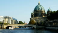 Berlin Cathedral (Berliner Dom) On Spree River (4K/UHD to HD).