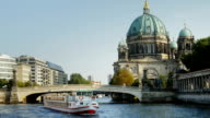 Berlin Cathedral On Spree River (4K/UHD to HD)