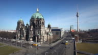 Berlin Cathedral Television Tower - Time Lapse