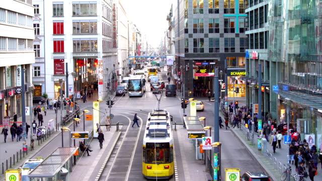 Berlin Friedrichstrasse, Time Lapse
