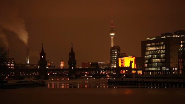 Berlin Panorama - Spree (time lapse)