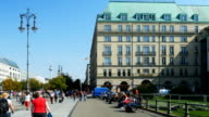TU Berlin Pariser Platz And Hotel Adlon (4K/UHD to HD).