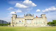 Berlin Reichstag 4K time lapse of German parliament building