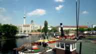 Berlin Skyline with Old Harbor