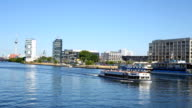 Berlin Skyline with Spree River