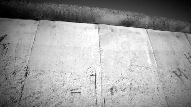 Berlin Wall, camera pan
