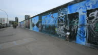 Berlin Wall museum East Side Gallery at Muhlenstrabe / Berlin, Germany