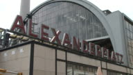 BerlinAlexanderplatz railway station in Berlin Germany