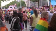 Berliners come out for the city's Gay Pride parade the first pride march since Germany legalised same sex marriage