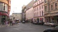 BerlinView of a City Street in Berlin Germany