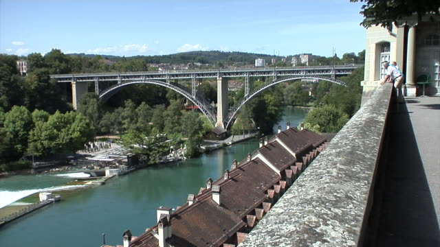 Bern on the river Aare