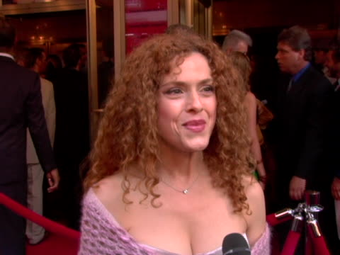 Bernadette Peters/ Actress She talks about her favorite Martin Short bit her Broadway Barks charity efforts and the projects shes been working on at...