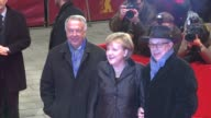 Bernd Neumann Dieter Kosslick Angel Merkel at the Pina Premiere 61st Berlin International Film Festival at Berlin