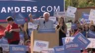 Bernie Sanders rally in Boulder Colorado