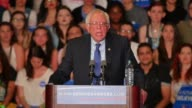 Bernie Sanders spoke at his 'A Future to Believe In' rally in Phoenix which took place at 100pm on March 15 2016 Also included are SOTs with young...