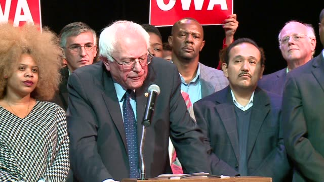 WGN Bernie Sanders Talks About Felons Being Allowed to Vote on December 23 2015 in Chicago Illinois