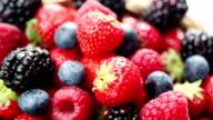 Beeren und Obst