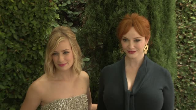 Beth Behrs Christina Hendricks at The Rape Foundation's Annual Brunch in Los Angeles CA