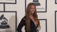 Beyoncé at The 57th Annual Grammy Awards Red Carpet at Staples Center on February 08 2015 in Los Angeles California