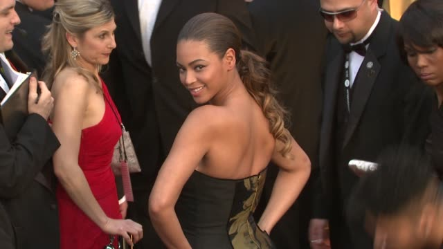 Beyoncé Knowles at the 81st Academy Awards Arrivals Part 6 at Los Angeles CA
