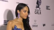 Bianca Lawson at The Wearable Art Gala at California African American Museum on April 29 2017 in Los Angeles California