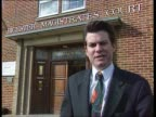 Bicester Magistrates Court CMS Macinnes i/c SOT MS Michael Breen towards out of court followed by Hill CMS Michael Breen statement SOT Mr Hill...