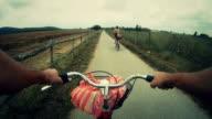 Bicycle Challenge Gopro Video