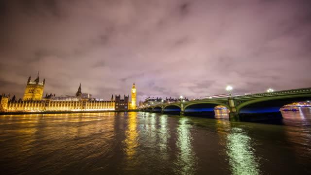 T/L Big Ben and Parliament at night