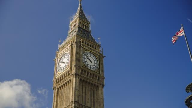 MS TU Big Ben and Union Jack, London