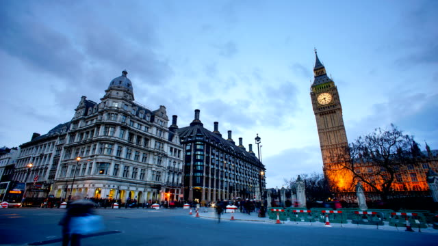 Big Ben and Westminster abbey in London, UK
