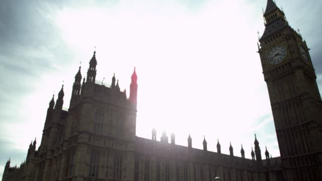 Big Ben in afternoon sunlight
