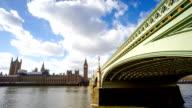 Big Ben, London eye, Westminster abbey in London, GB