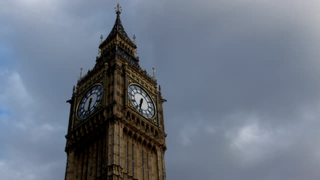 Big Ben timelapse HD