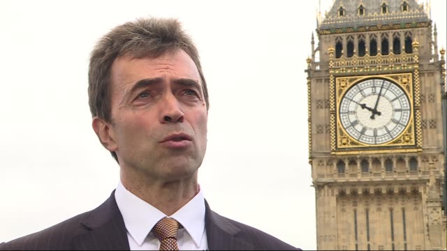 Tom Brake interview ENGLAND London Westminster EXT Tom Brake MP interview SOT re repairs to Big Ben Big Ben in background