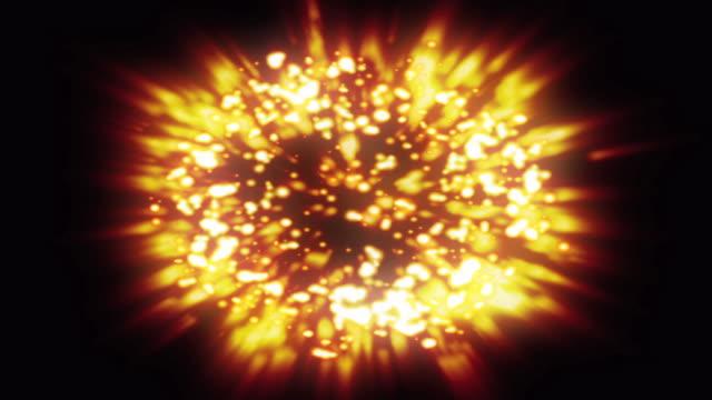 Big Bright Blast Background Loop