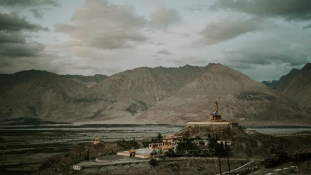 Big Buddha In Leh Village, Ladakh, India