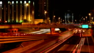 Big City Night Traffic